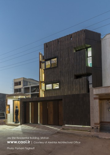 Jey Shir, Hamed Moradi Aleshtar, Residential building in Isfahan, Iranian Architecture