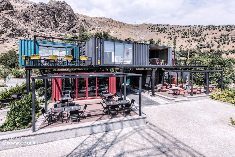 Cube Club in Tehran On Office container architecture  1