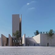 Golshahr Mosque and Plaza in Karaj by Saffar Studio Modern Mosque  3