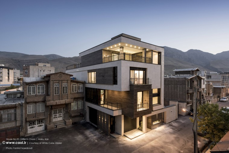 House No20 in Maku in Iran by White Cube Atelier  1