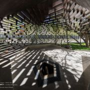 Columnless canopy in Tehran by Olgoo Architecture Office Iranian Architecture  11