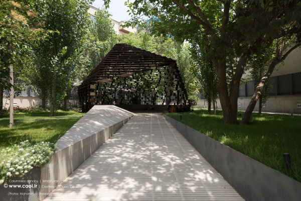 Columnless canopy in Tehran by Olgoo Architecture Office Iranian Architecture  1