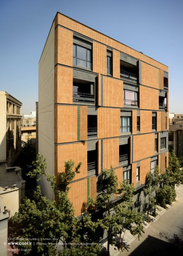Sarvin residential building in Tehran by Sarvestan Studio  1