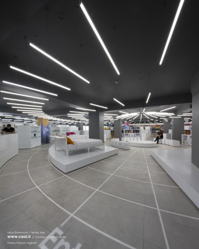 Laico Showroom in Tehran by Admun Studio Store Interior Design  1