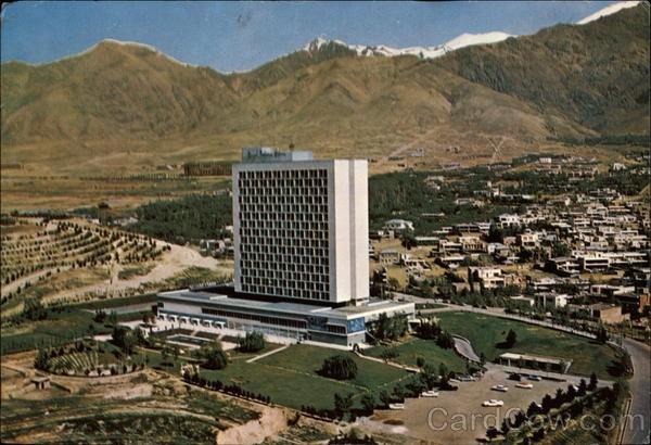 Royal Tehran Hilton Hotel Heydar Ghiaiee 1962 Esteghlal International هتل هیلتون