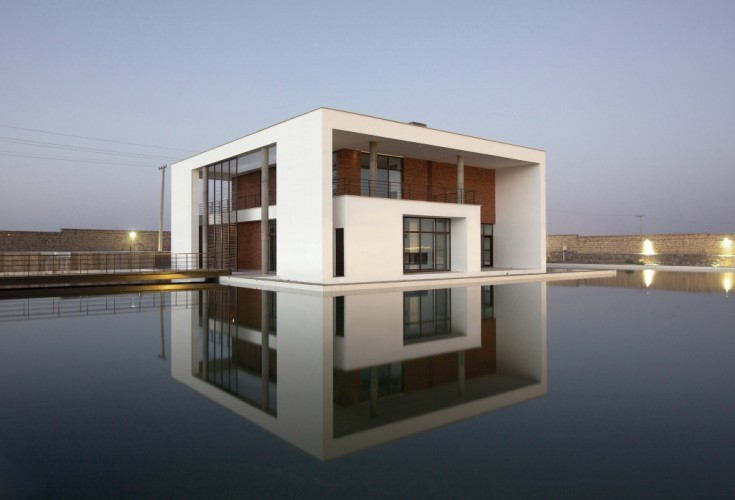 Shams Villa in Saveh, Iran. Designed by Karand Group | Please visit: www.caoi.ir