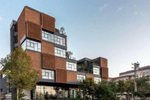 ساختمان اداری و سایت تولیدی شرکت دارویی سیناژن