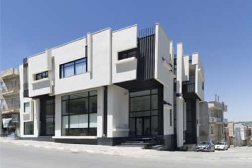 ساختمان تجاری-مسکونی مرز
